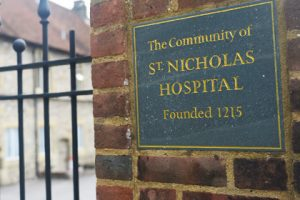 St Nicholas Christina Almshouse Entrance