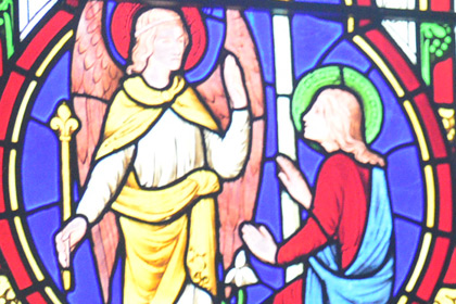 St Nicholas Hospital Chapel - Stained Glass