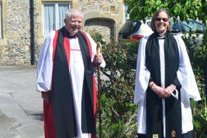 Bishop ( left) and Master (right) – The Venerable Caroline